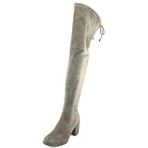 UNISA DEDRII 7.5 gray fabric otn boot NWT